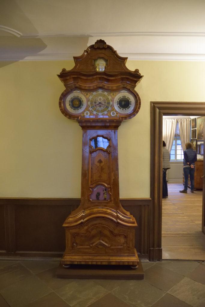 ゲーテハウスの天文時計