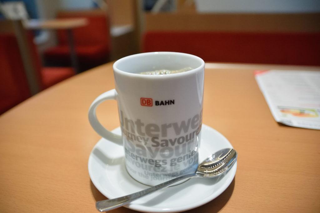 ドイツ鉄道のカップ