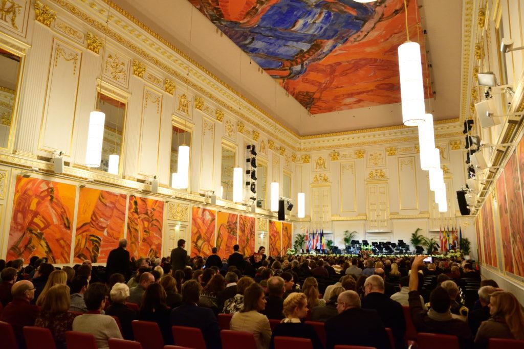 ホーフブルク宮殿広間内装