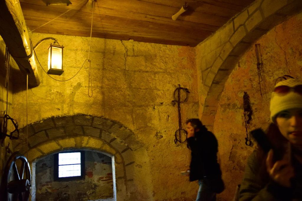 ザルツブルク城の拷問部屋