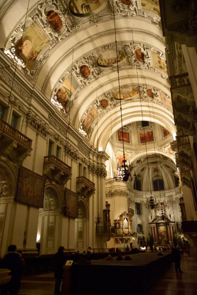 ザルツブルク大聖堂の内装