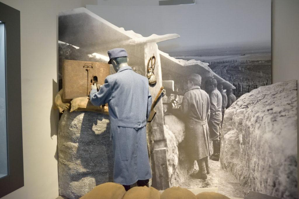 戦場に関する展示