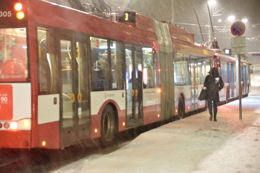 ザルツブルクのバス