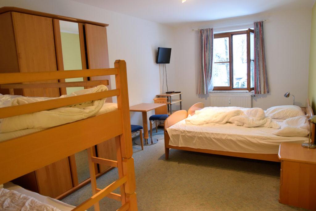 ザルツブルクのユースホステル、室内