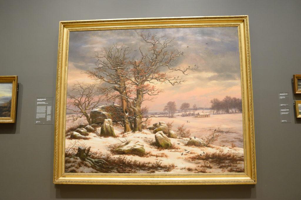 Winter Landscape near Vordingborg