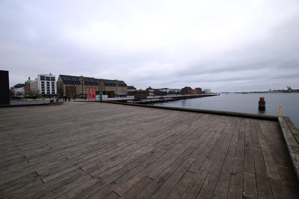 コペンハーゲンの海