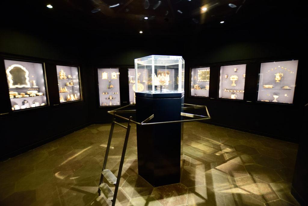 ローデンボルク城地下の宝物庫