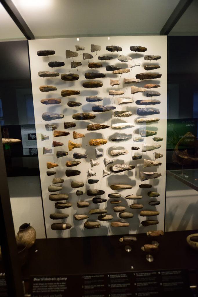 たくさんの打製石器