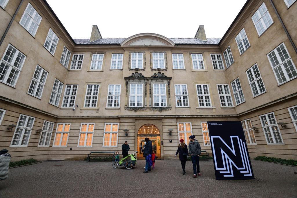 デンマーク国立博物館外観