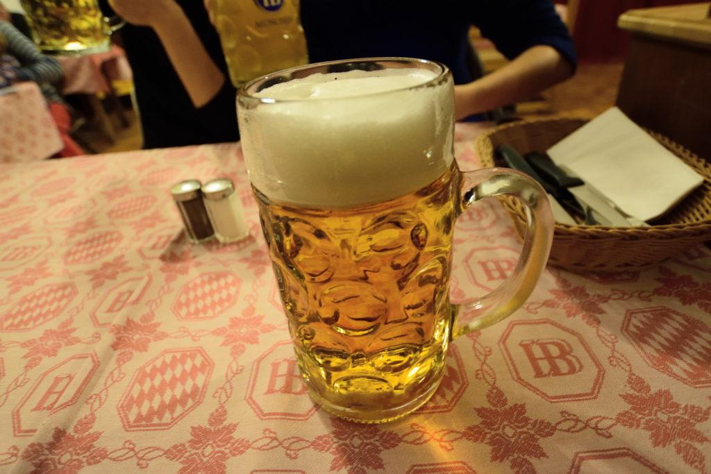1リットルビール