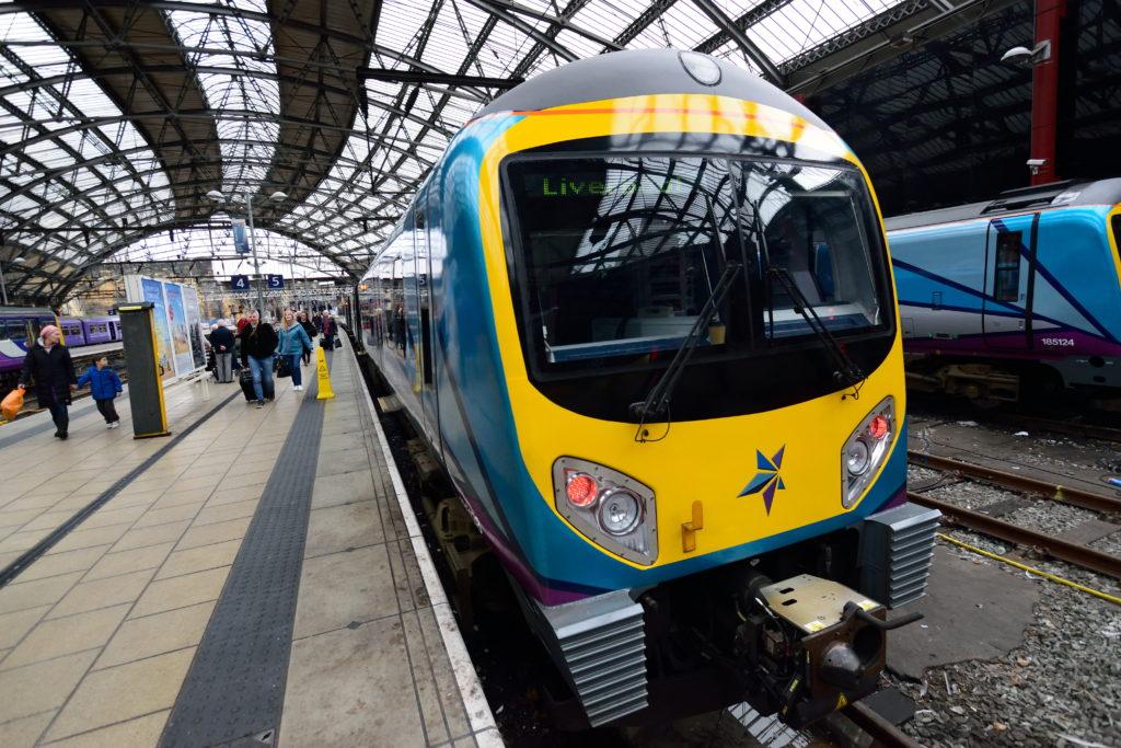 マンチェスターとリバプールを結ぶ鉄道