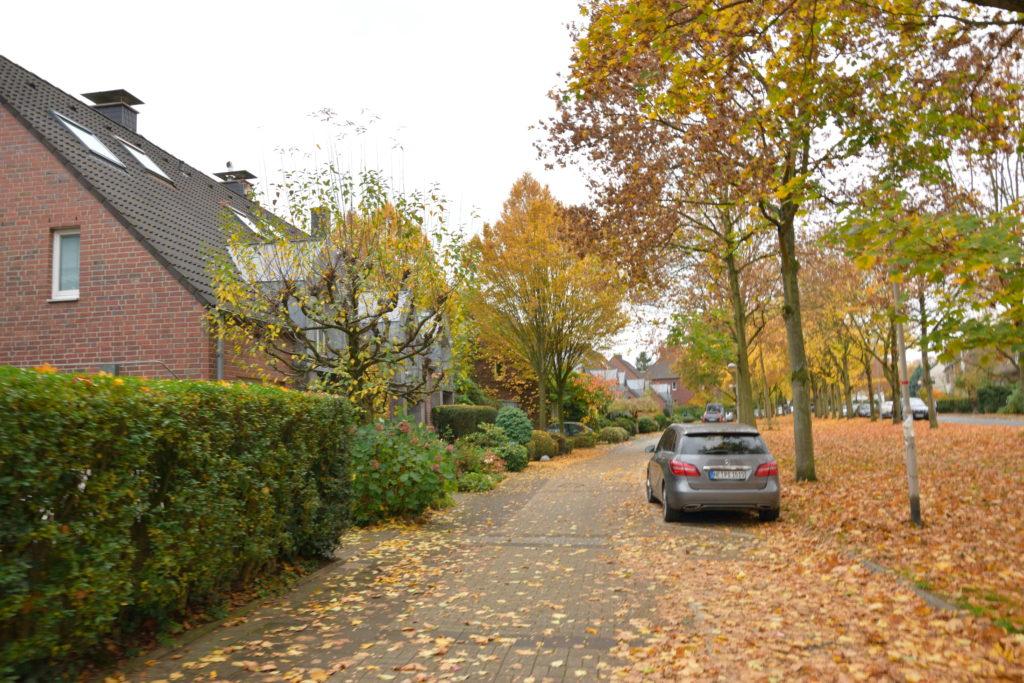 デュッセルドルフの住宅街