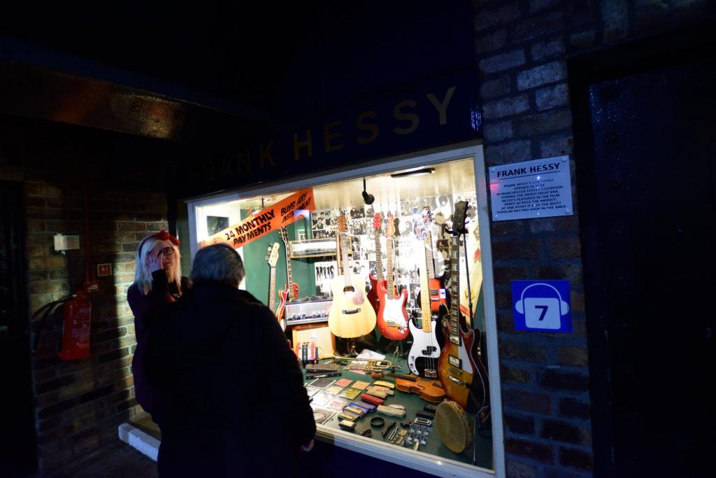 リバプールにあった楽器店の再現