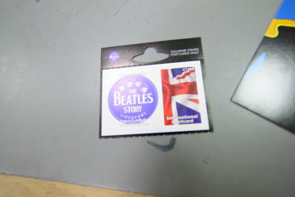 エアメール用切手、ビートルズ