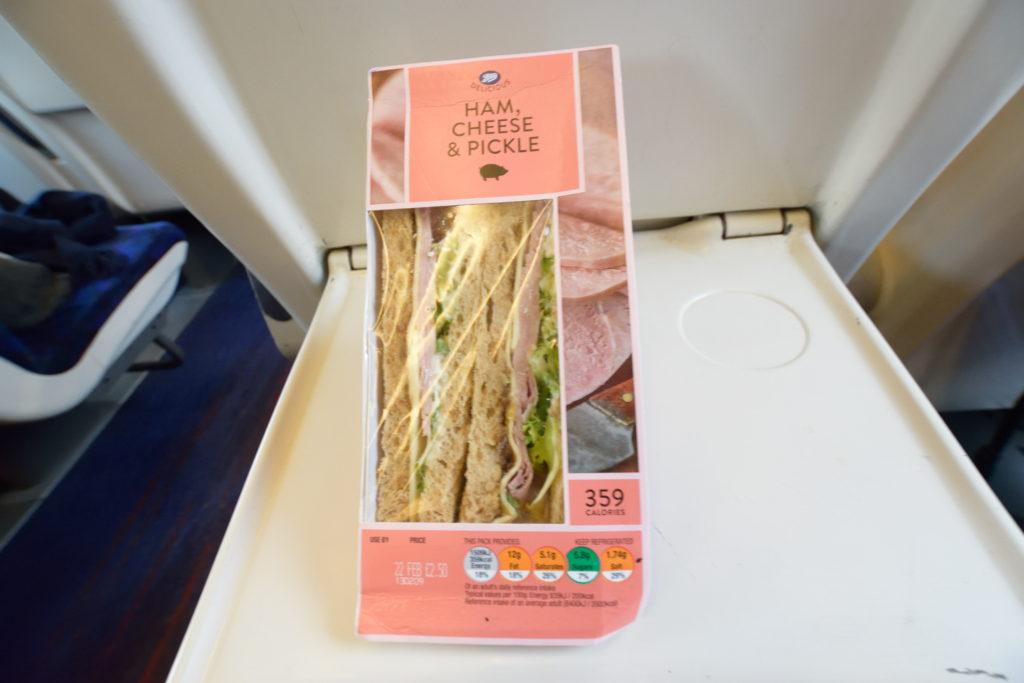 イギリスのスーパーで売っているサンドイッチ