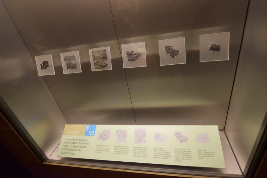 呪いの手紙の展示
