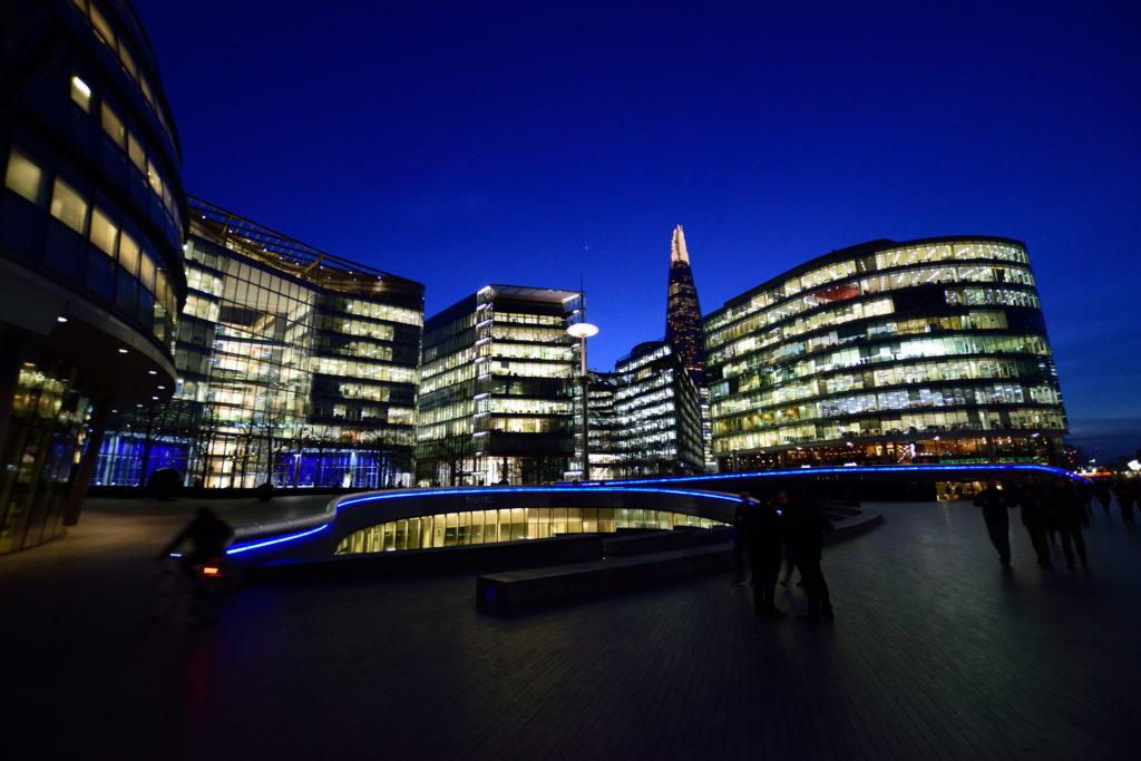 ロンドンの新しい建築群