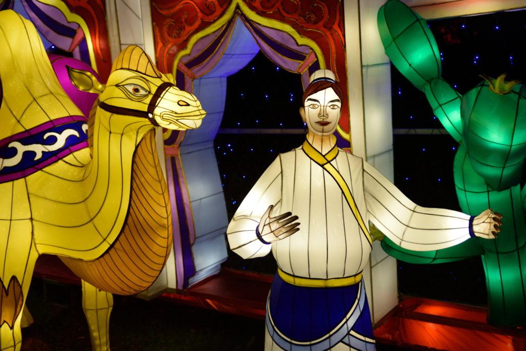 ラクダを操る商人