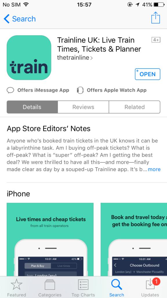 train lineアプリ紹介