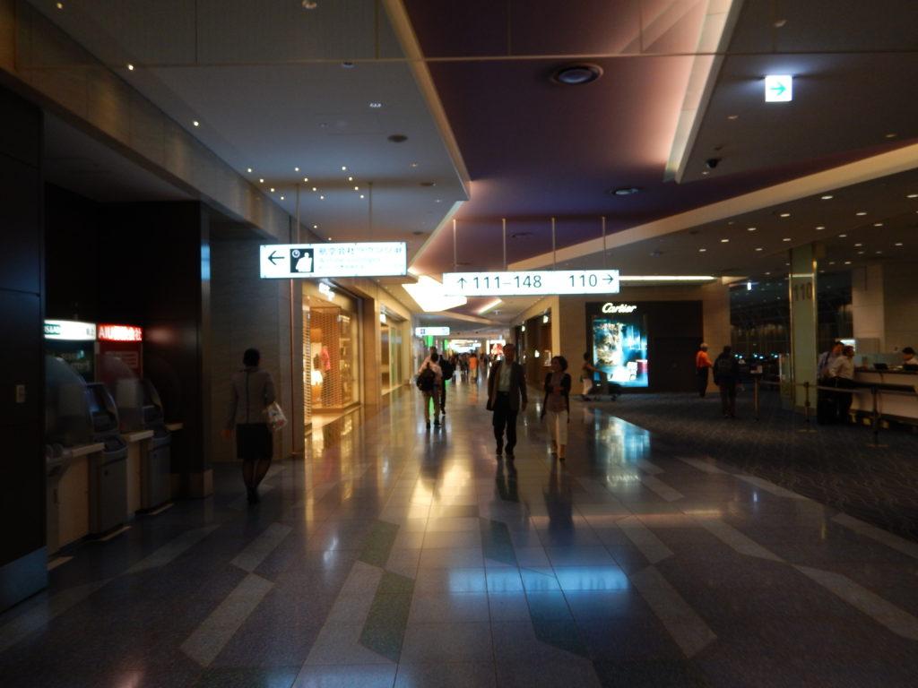 羽田空港国際線ターミナル保安区域