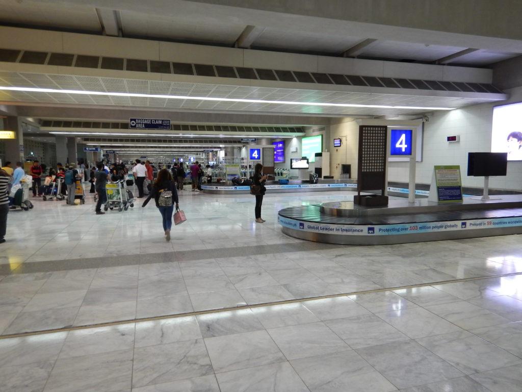 マニラ国際空港ターンテーブル