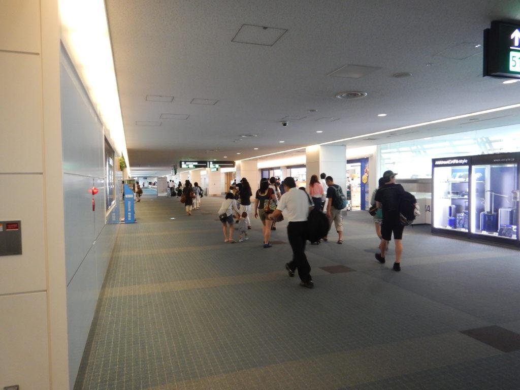 羽田空港第2ターミナル保安区域