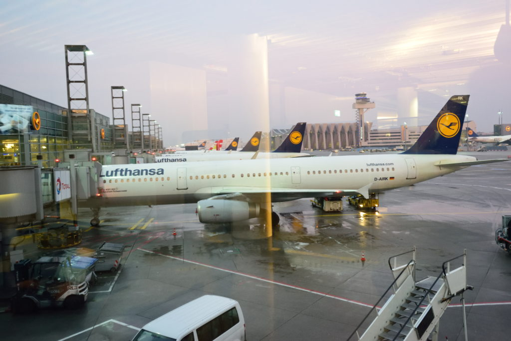 Lufthansa A321-131 D-AIRK