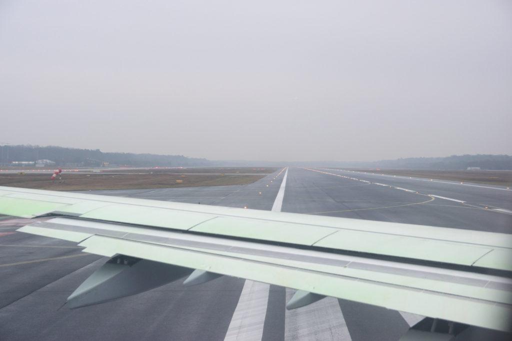 フランクフルト国際空港滑走路