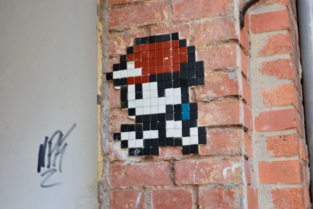 ゲッティンゲンの街中にあるポケモンのアート