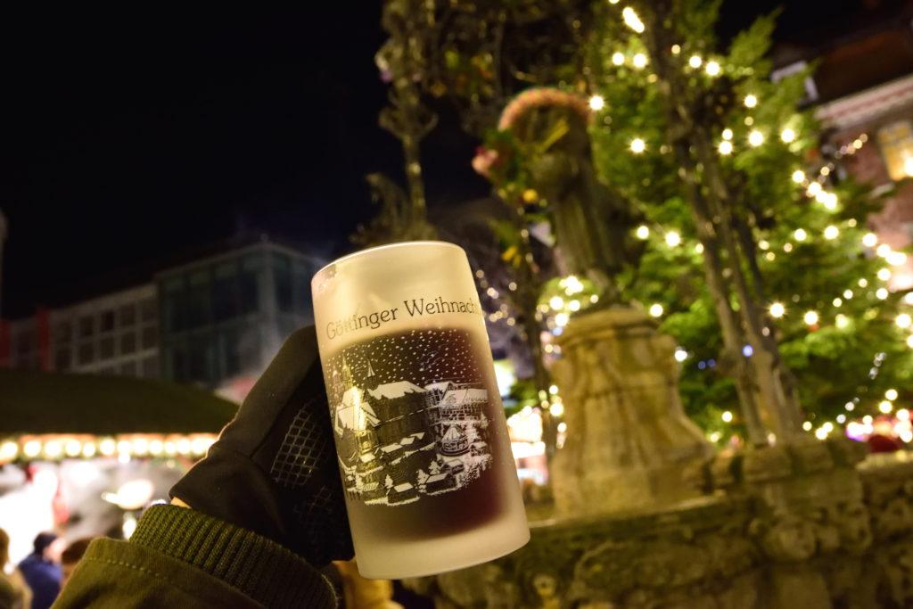 ゲッティンゲンのグリューワインのグラス