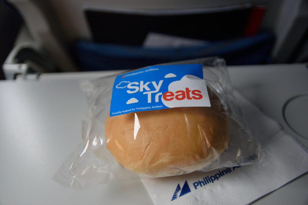 フィリピン航空機内食