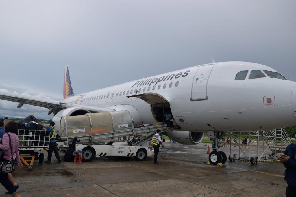 フィリピン航空機体
