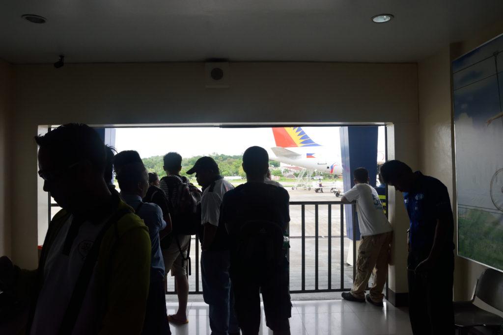 タグビララン空港手荷物受取所
