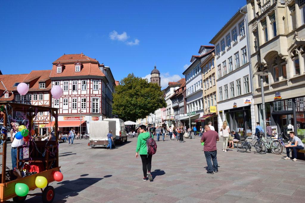 ゲッティンゲンのメイン広場