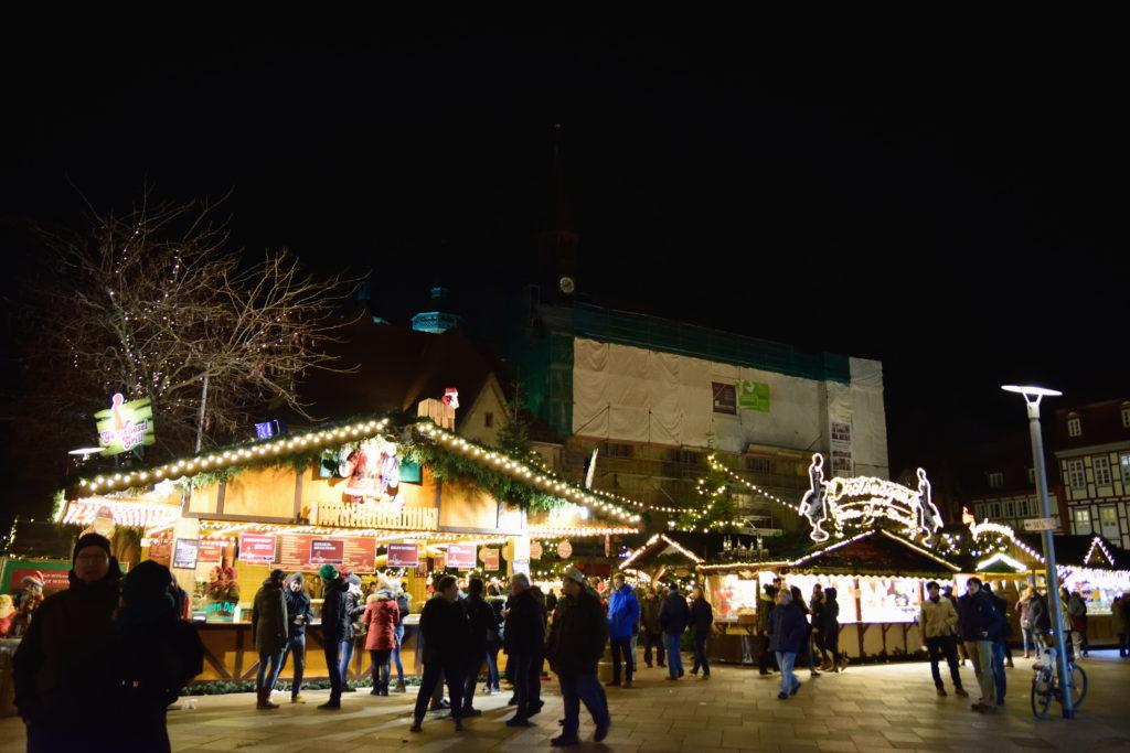 クリスマスマーケットの全景