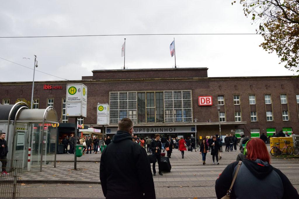 デュッセルドルフ中央駅外観