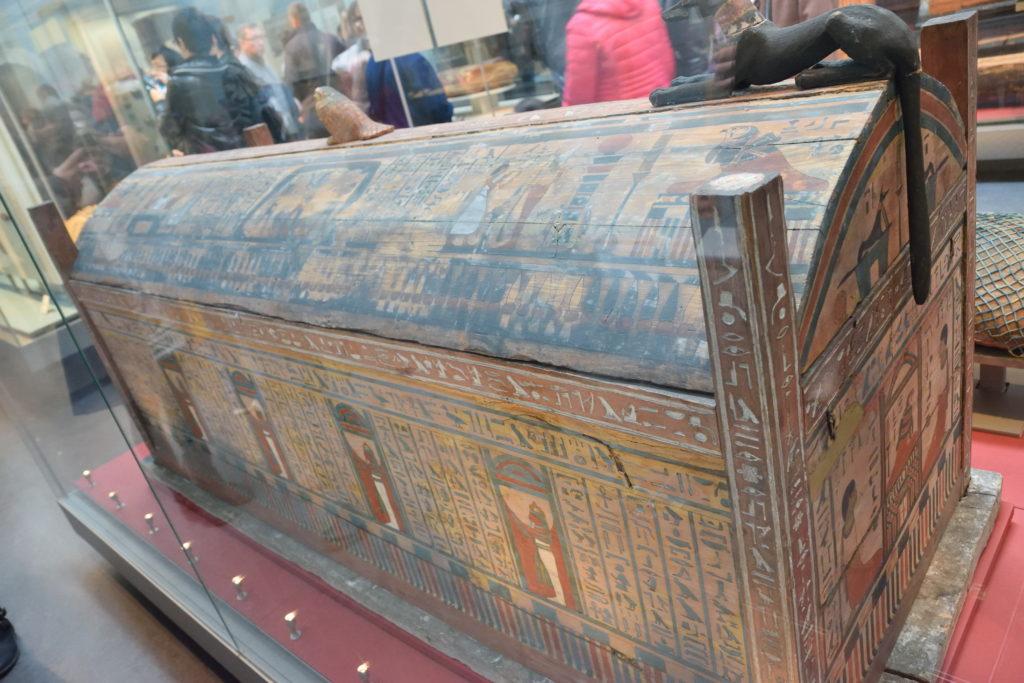木棺の展示