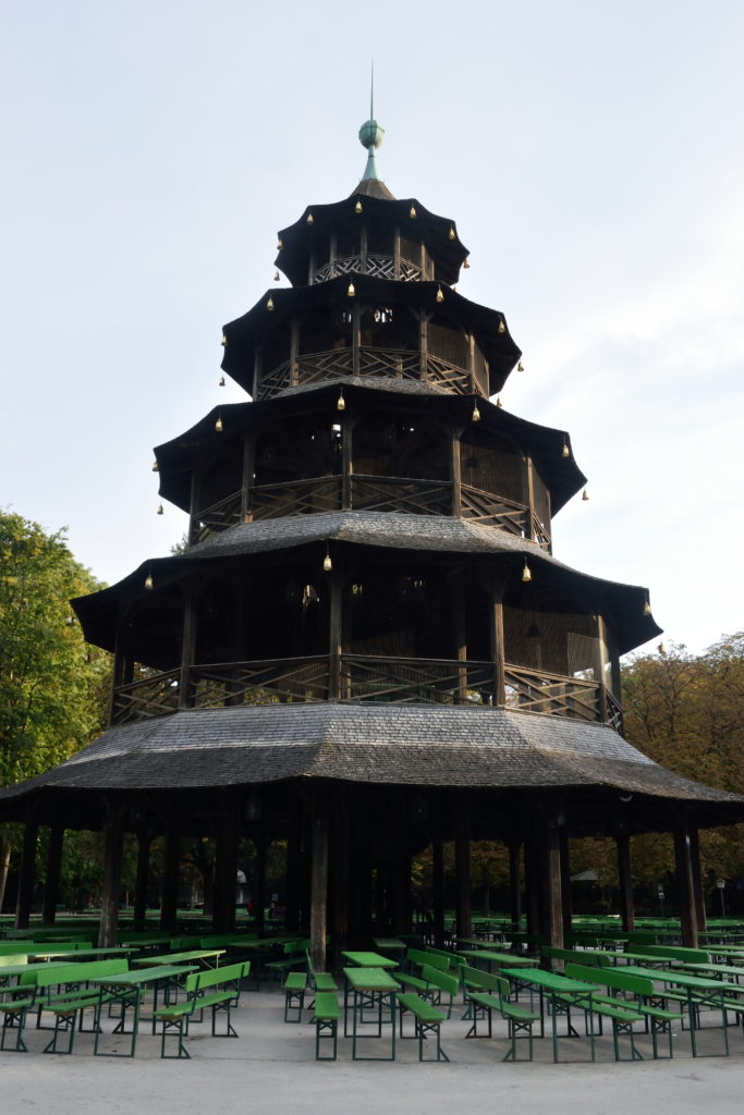 中国塔の外観