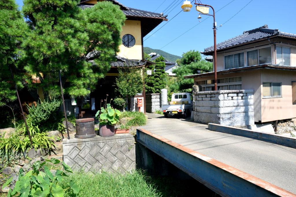 岩下温泉旅館、入浴棟の外観