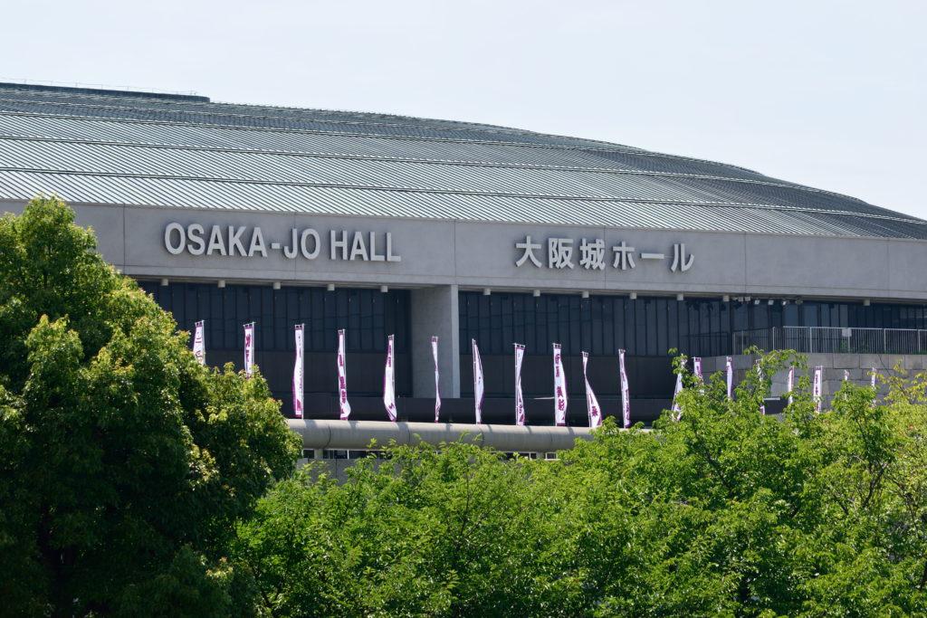 乃木坂公演当日大阪城ホール
