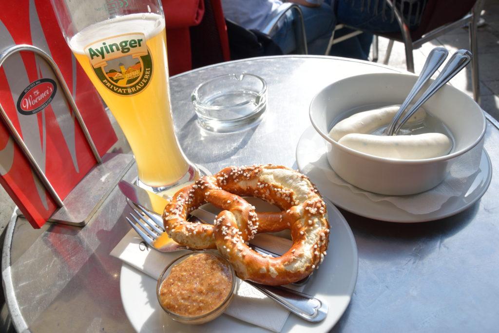 ミュンヘンらしい朝食