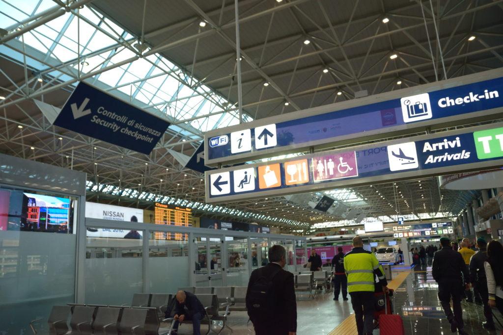 ローマ空港第1ターミナル