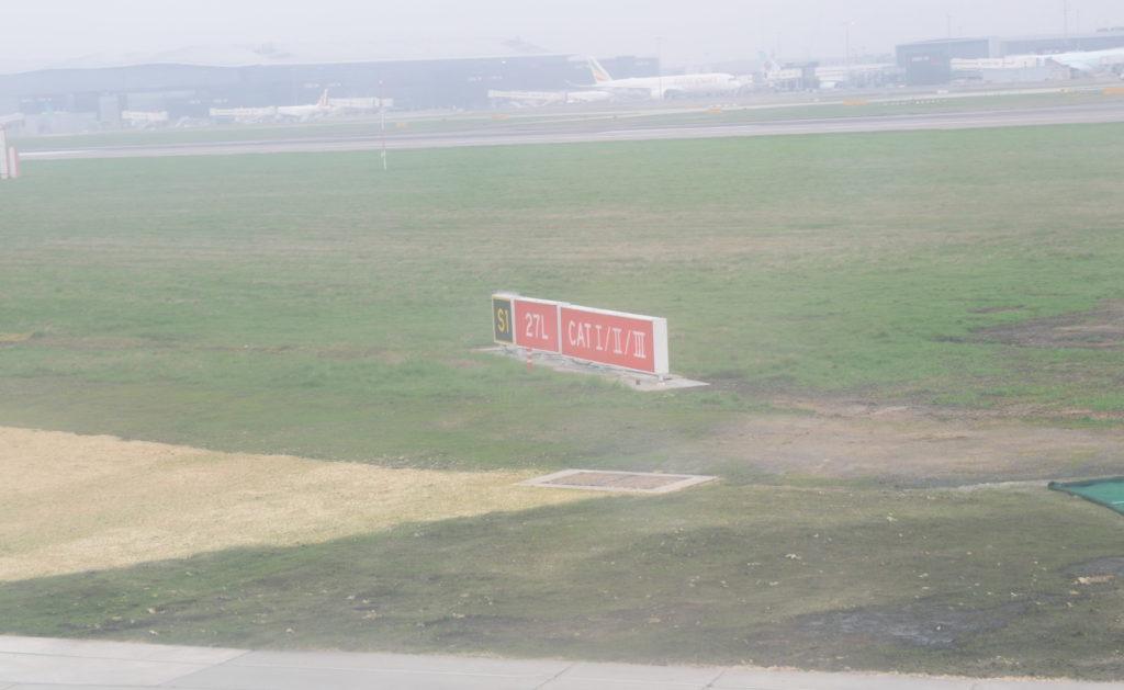 ヒースロー空港ランウェイ