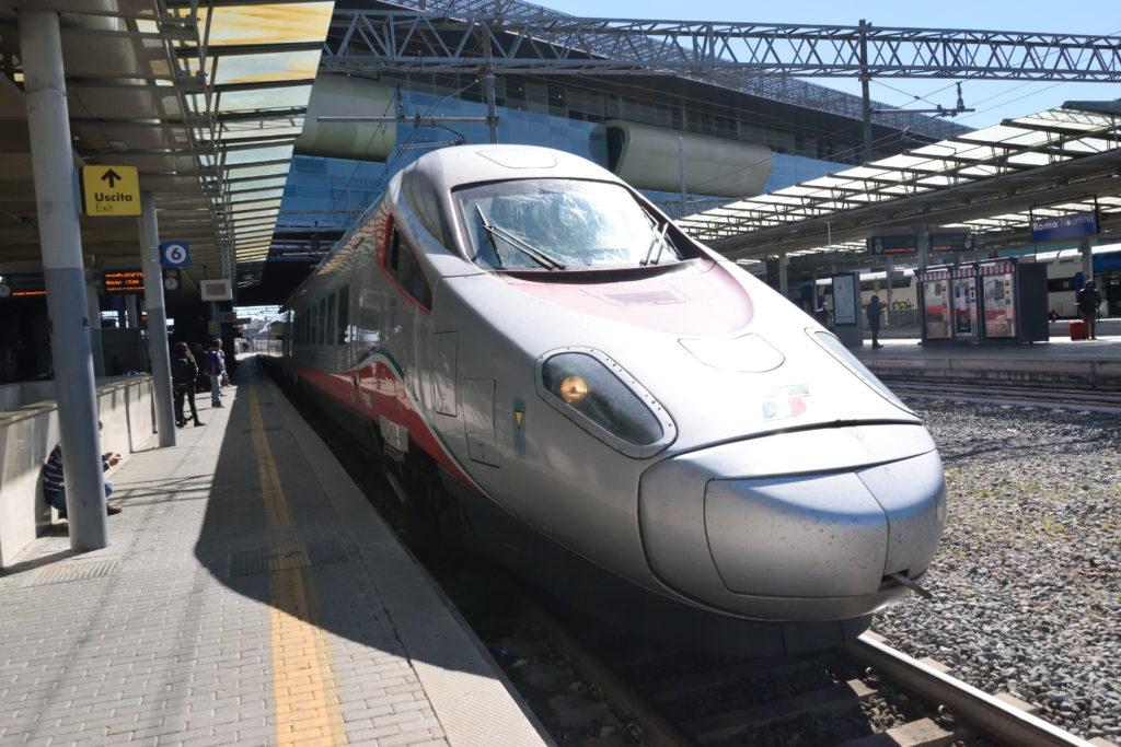 イタリアの高速鉄道の車両
