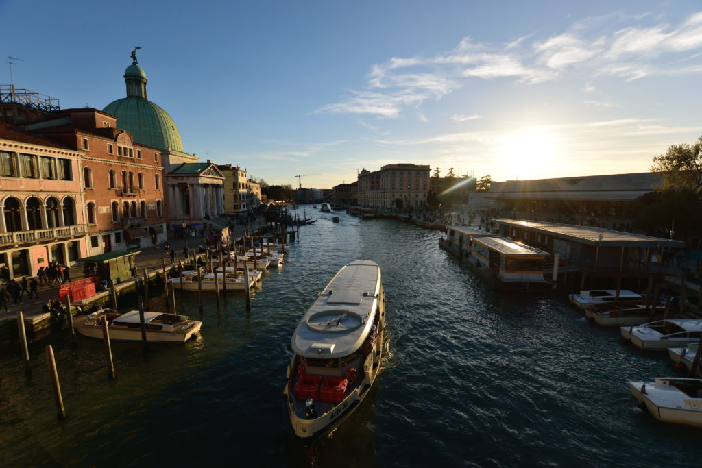ベネチアの風景写真
