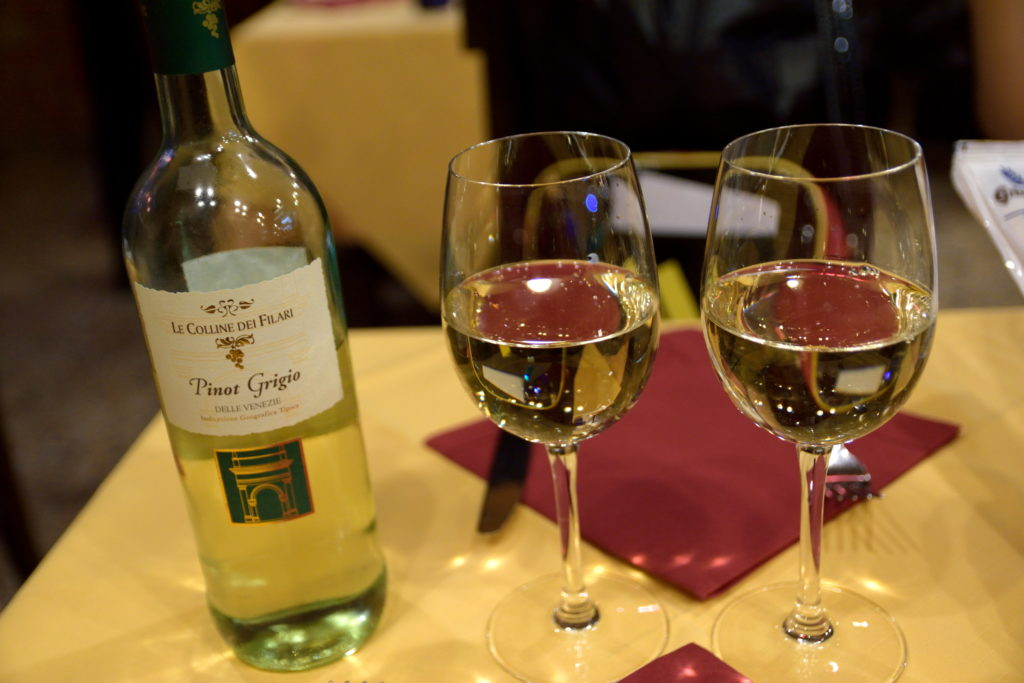 ベネチア産の白ワイン