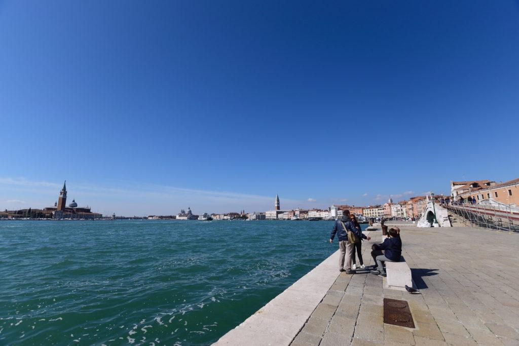 ベネチアの海の眺め