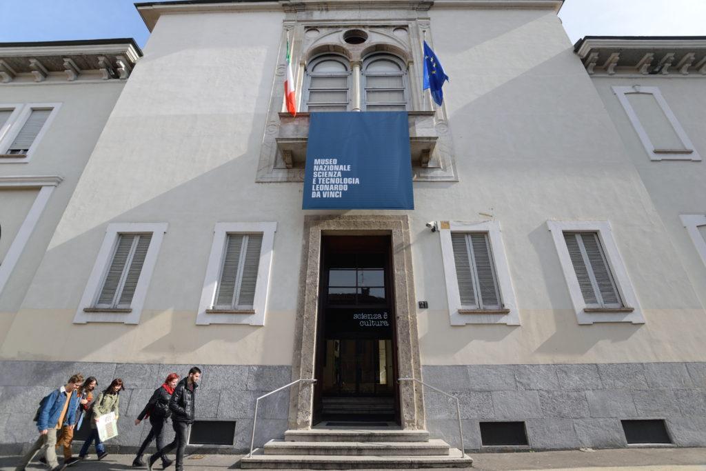 レオナルド・ダ・ヴィンチ博物館、入口