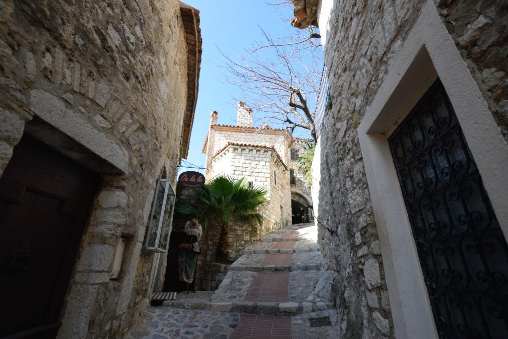 エズ村の旧市街の様子
