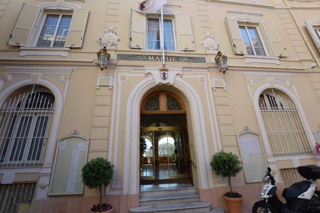モナコ市庁舎の外観